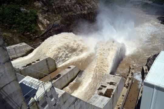 """Hydroelectric """"Saltos de San Pedro"""""""