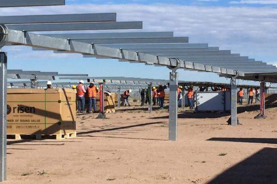 Delicias Solar Development