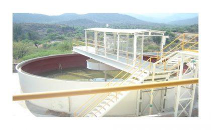 Operation of the Alamos de Martinez benefit plant