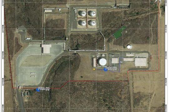 Storage plant for liquefied petroleum gas supply Guadalajara