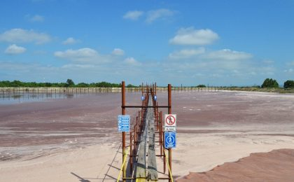 Rehabilitation and maintenance of the board of the extension of the jales dam No. 4